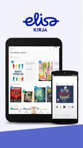 Elisa Kirjan sovellus Androidille