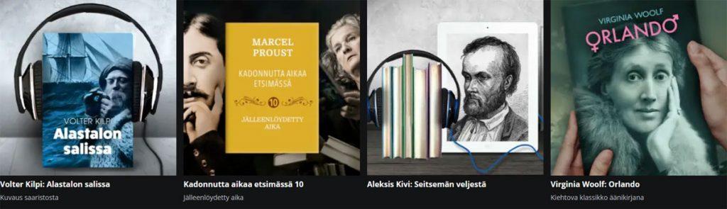 YLE Areenasta löytyy runsaasti ilmaisia äänikirjoja kuunneltavaksi